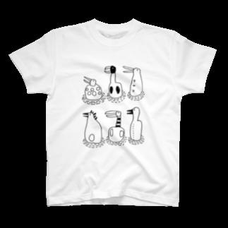 nugotaroの水辺で歌おう Tシャツ