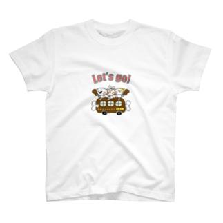 ホワイティ29カー Tシャツ