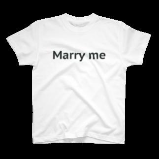 Marry me Tシャツ