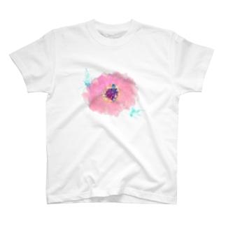 百日草 Tシャツ