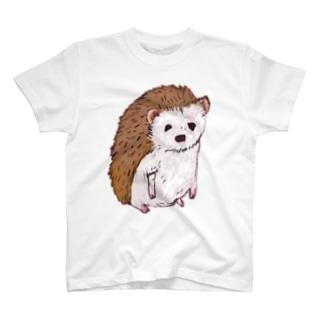 はりねずみ Tシャツ