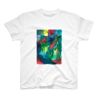 はじける世界 Tシャツ
