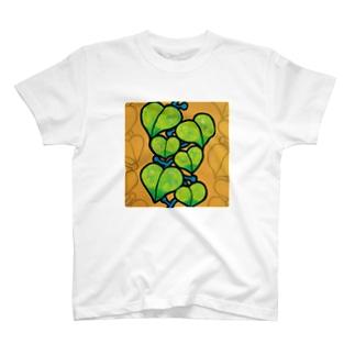 つる植物 Tシャツ