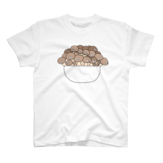 つかさのもっさりきのこTシャツ