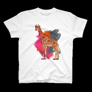 つかさのキリンさんTシャツ