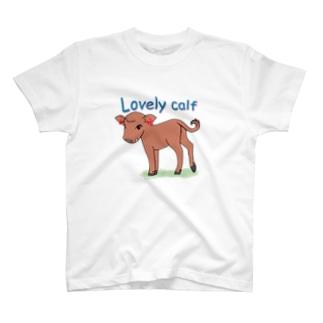 Lovely Calf Tシャツ