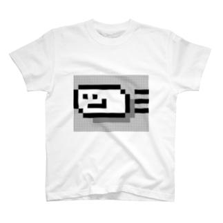 しろいやつ(びゅーん) Tシャツ