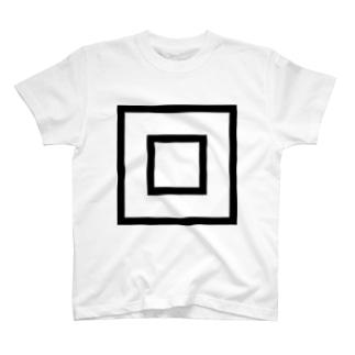 スクエア Tシャツ