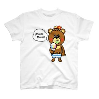 ベアムーチョ-シェィブアイスA Tシャツ