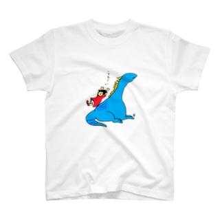 恐竜くんその3 Tシャツ