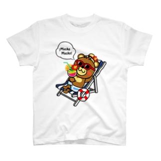 ベアムーチョ-バカンス Tシャツ