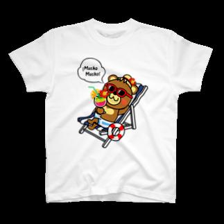 メルヘンダイバーのベアムーチョ-バカンスTシャツ