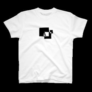 シンプルデザインアルファベットA Tシャツ