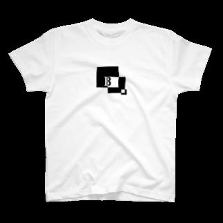 シンプルデザイン:Tシャツ・パーカー・スマートフォンケース・トートバッグ・マグカップのシンプルデザインアルファベットBTシャツ