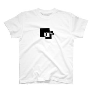 シンプルデザインアルファベットD Tシャツ