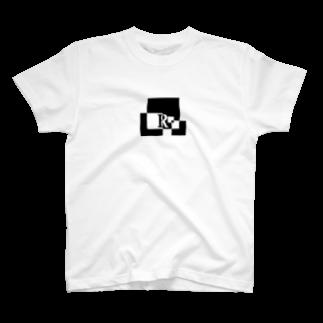 シンプルデザインアルファベットR Tシャツ