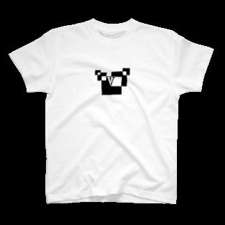 シンプルデザイン:Tシャツ・パーカー・スマートフォンケース・トートバッグ・マグカップのシンプルデザインアルファベットVTシャツ
