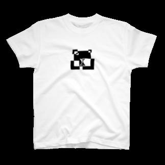 シンプルデザインアルファベットX Tシャツ