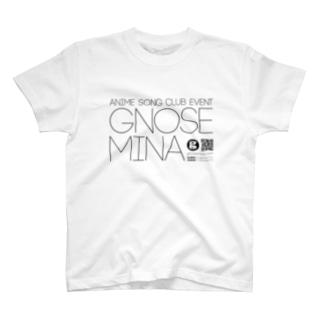 Gnosemina Title Black Tシャツ