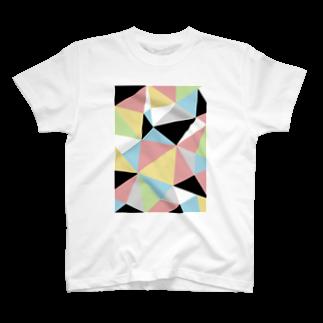 一束のcutting(サーカス)Tシャツ
