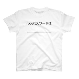 rootパスワード Tシャツ