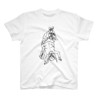 フランケンシュタイナー。 Tシャツ