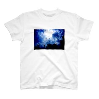 Beautiful Sky Tシャツ