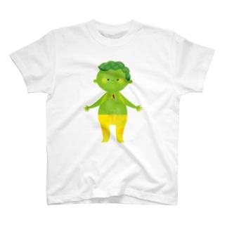 characters ラブ&ピース Tシャツ