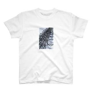 鉄塔 Tシャツ