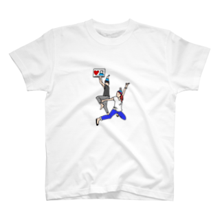 machapoの富士山帽子の人たち☆ Tシャツ