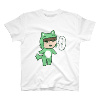 ガウ子ショップのワンワンむっちゃん Tシャツ