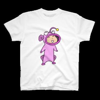 ガウ子ショップの着ぐるみなおこ Tシャツ