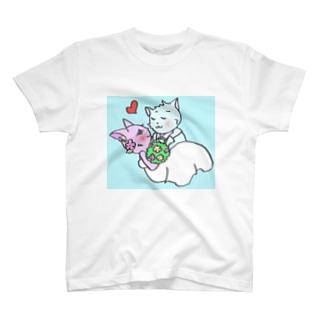 さくらんぼねこコレクション2 Tシャツ