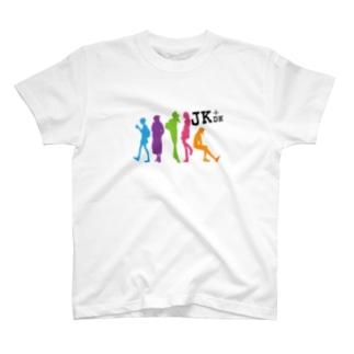 JK+DK カラー単色 Tシャツ