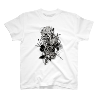 Colored_Roses Tシャツ