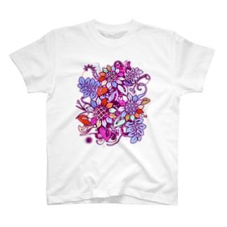 Sunflower_Growth Tシャツ