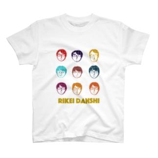 RIKEI DANSHI Tシャツ