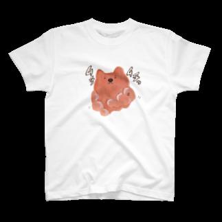 vagのむちむちウォンちゃんTシャツ
