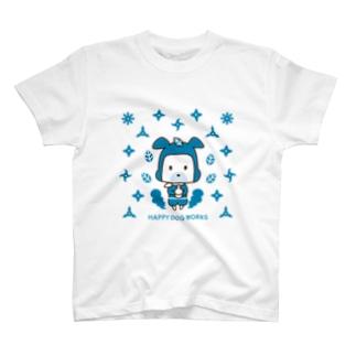 HAPPYDOG【LINEスタンプ】忍者02 Tシャツ