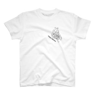 心臓バレンタイン Tシャツ