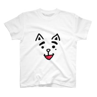 ほくろいぬ Tシャツ