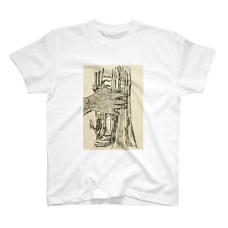 バリトンプレイヤーの右手 Tシャツ
