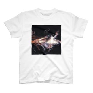 冬の花火 Tシャツ