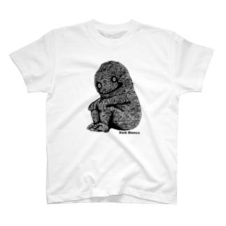 """Dark blanco """"Monster 15"""" Tシャツ"""
