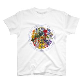 リンネの花時計 Tシャツ