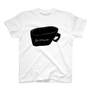 朝のコーヒー Tシャツ