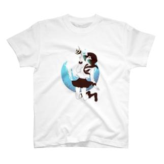 海中少女2 Tシャツ