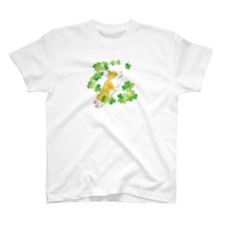 四つ葉のクローバー Tシャツ