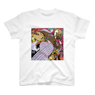 梅田さんと通天閣 Tシャツ