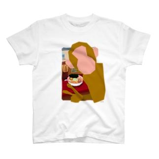 猿道(ラーメン) Tシャツ